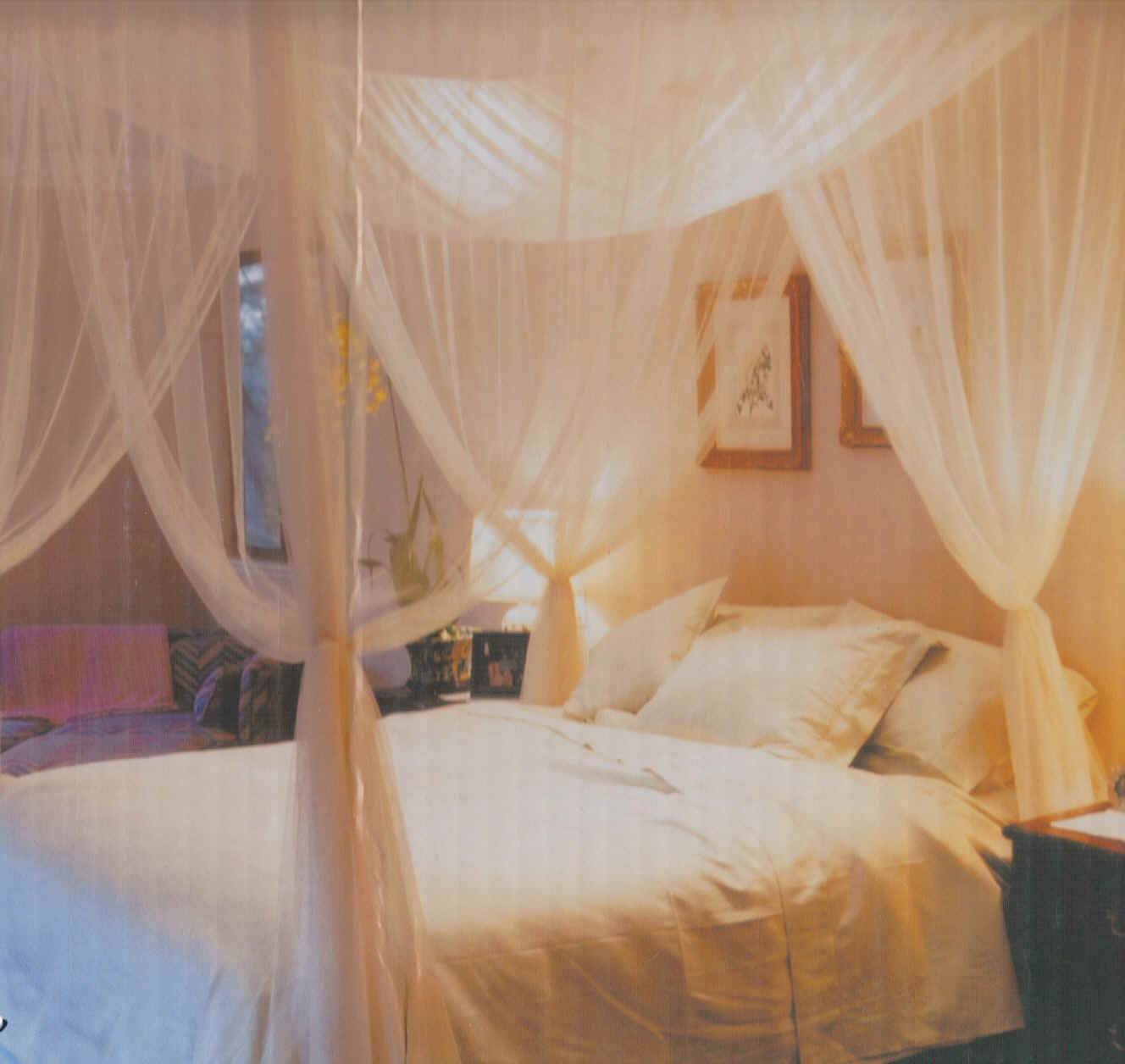 Extra bed for Canopy over bed